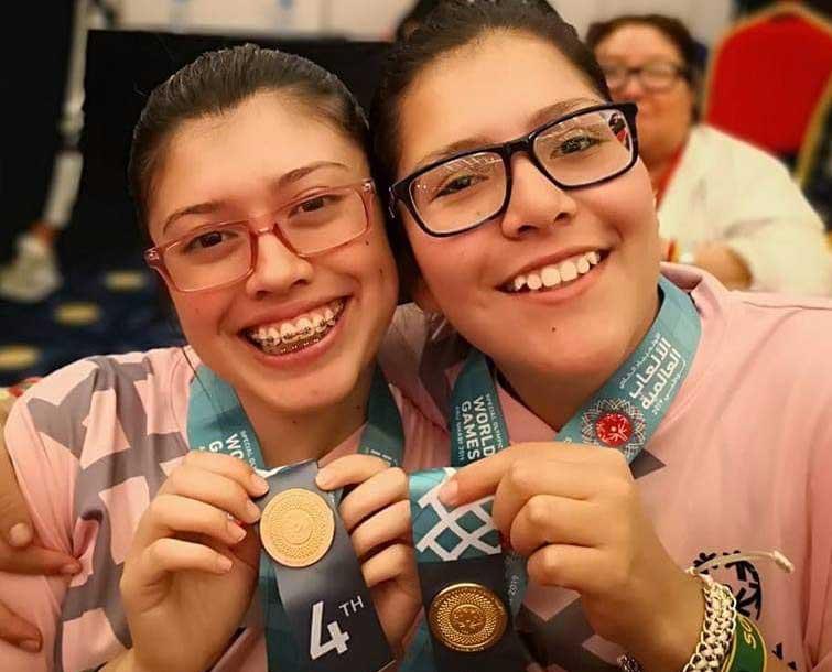 6 medallas olimpiadas especiales