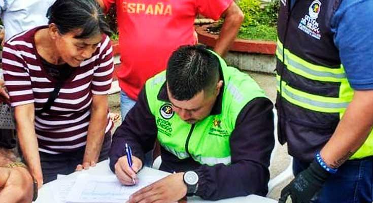 Ayudas humanitarias Cundinamarca